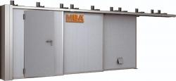Откатные противопожарные ворота EI60, EI90, EI120