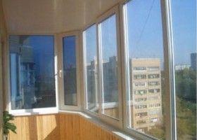 Ремонт остеклённых балконов, лоджий под ключ в красноярске -.